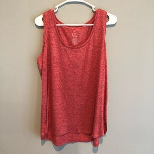 Súper soft clay color tank from Maurice's. Sz XL